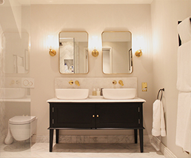 Luxe bathroom